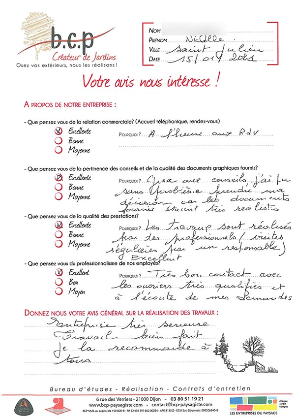 Avis 79, Saint Julien, janvier 2021