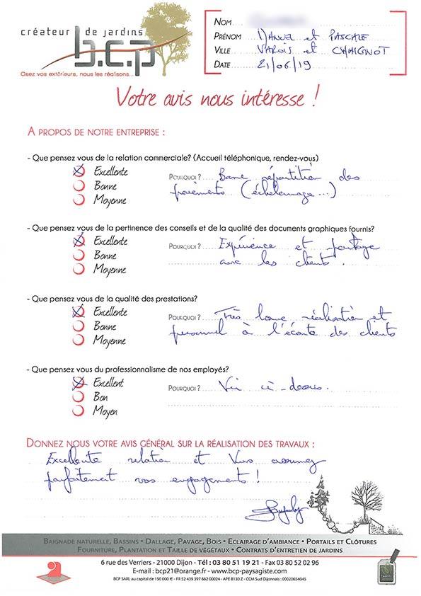 Avis 66, Varois, Dijon, Juin 2019