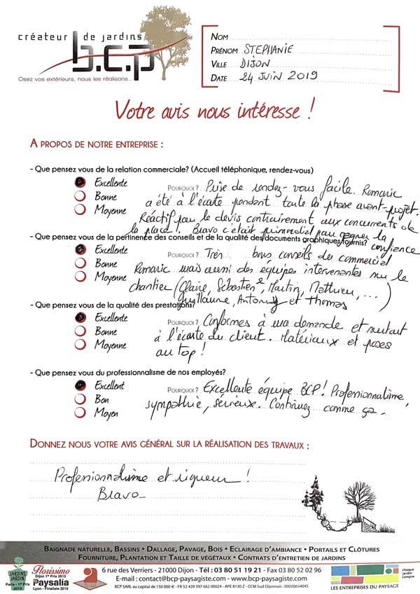 Avis 68, Dijon, Juin 2019
