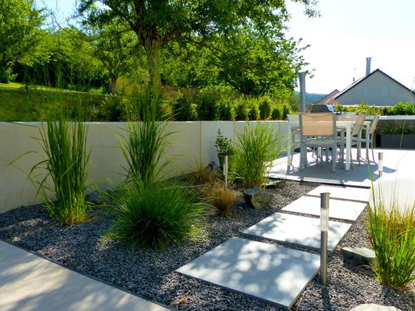 Jardin Paysager Contemporain Design - Donnez Un Coup De ...