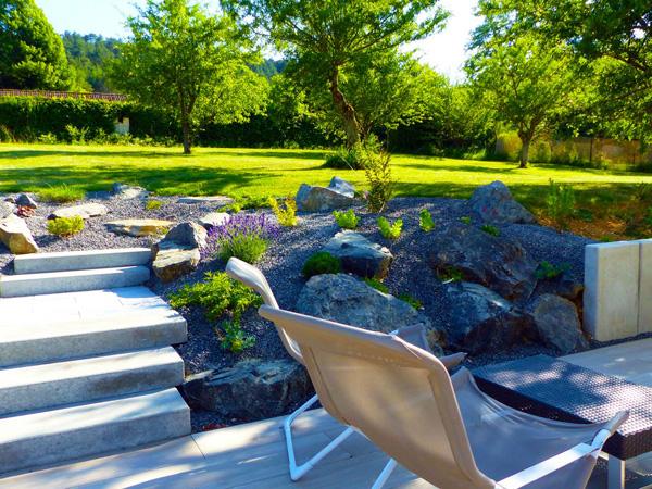 Le design le contemporain am nagements de jardins par for Amenagement jardin 06