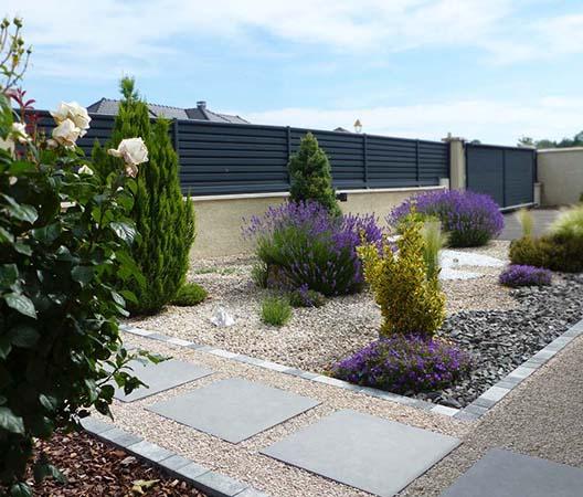 Jardin aménagement en Côte-d'Or, 2020 mars 7