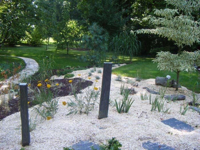 Le design le contemporain pour votre jardin et les for Modele de jardin paysager