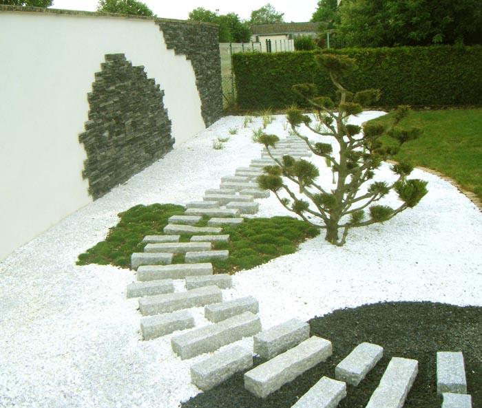 Le design le contemporain pour votre jardin et les for Amenagement de jardin contemporain