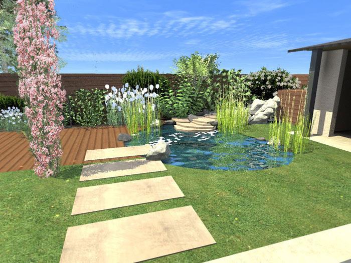 La conception de votre jardin par le paysagiste bcp for Conception petit jardin japonais