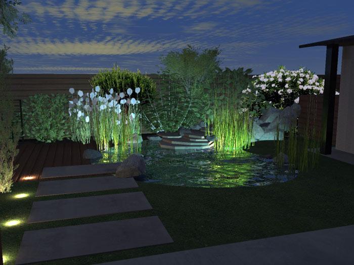 eclairage d 39 ambiance de jardins et des espaces verte avec bourgogne cr ation paysage dijon
