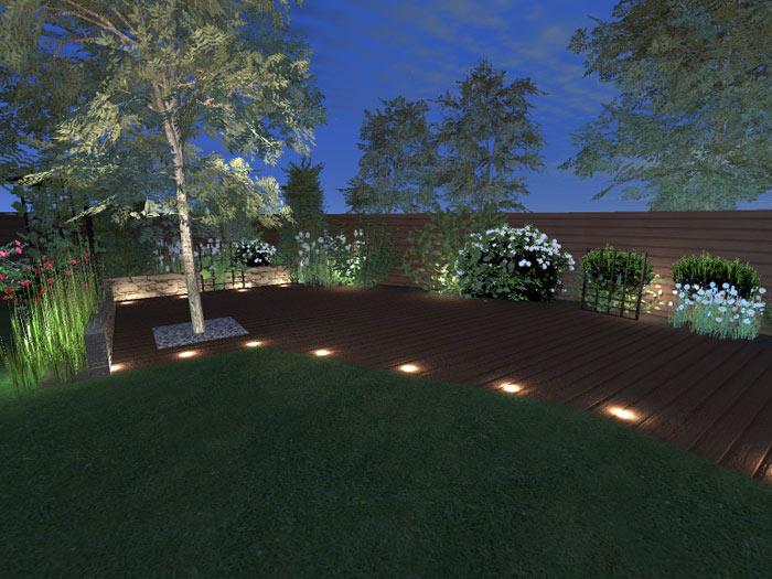 Eclairage d 39 ambiance de jardins et des espaces verte avec - Eclairage d ambiance exterieur ...