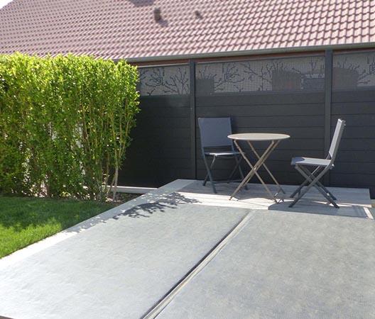 Création d'une piscine et aménagement des abords à Dijon  7
