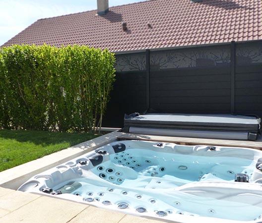 Création d'une piscine et aménagement des abords à Dijon  8