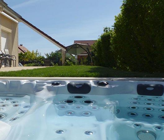 Création d'une piscine et aménagement des abords à Dijon  9
