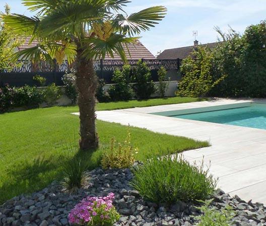 Création d'une piscine et aménagement des abords à Dijon  10