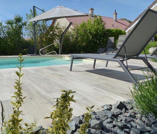 Création d'une piscine et aménagement des abords à Dijon  11