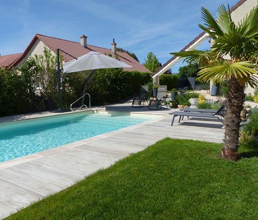 Création d'une piscine et aménagement des abords à Dijon  12