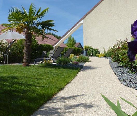 Création d'une piscine et aménagement des abords à Dijon  13