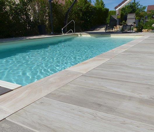 Création d'une piscine et aménagement des abords à Dijon  15