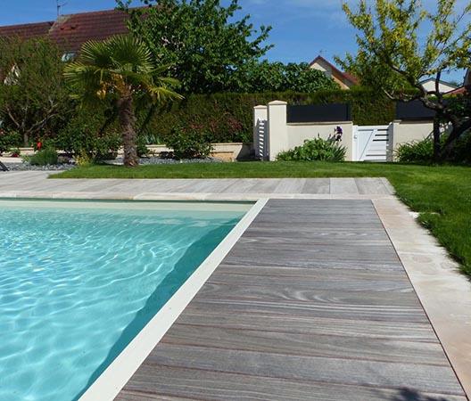 Création d'une piscine et aménagement des abords à Dijon  16