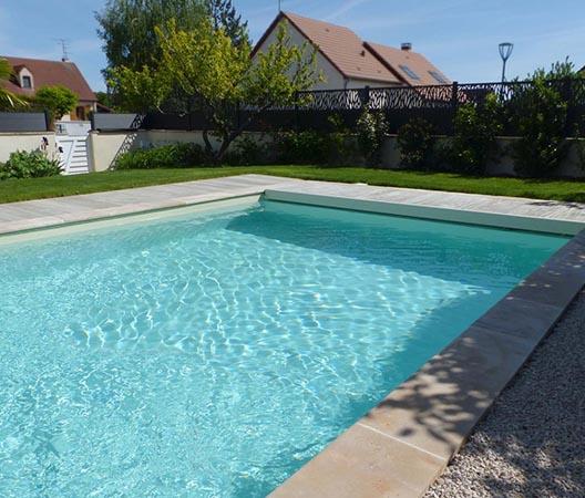 Création d'une piscine et aménagement des abords à Dijon  17