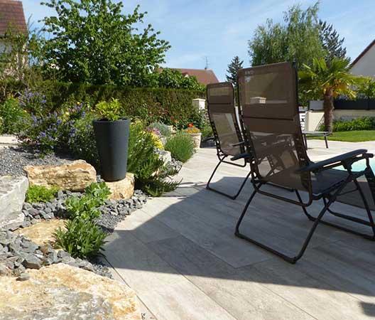 Création d'une piscine et aménagement des abords à Dijon  18