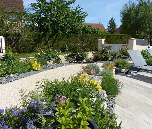 Création d'une piscine et aménagement des abords à Dijon  19