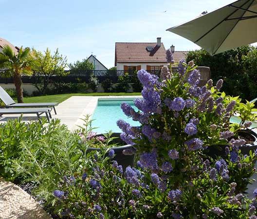 Création d'une piscine et aménagement des abords à Dijon  20