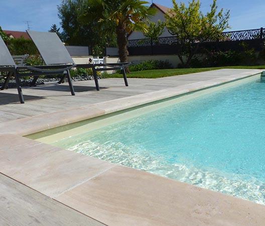Création d'une piscine et aménagement des abords à Dijon  21