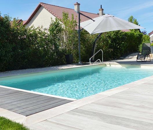 Création d'une piscine et aménagement des abords à Dijon  27