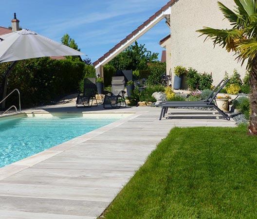 Création d'une piscine et aménagement des abords à Dijon  28