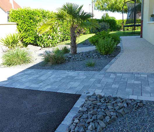 ménagement des extérieurs d'un jardin modern 4