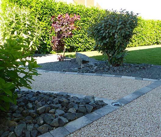 ménagement des extérieurs d'un jardin modern 5