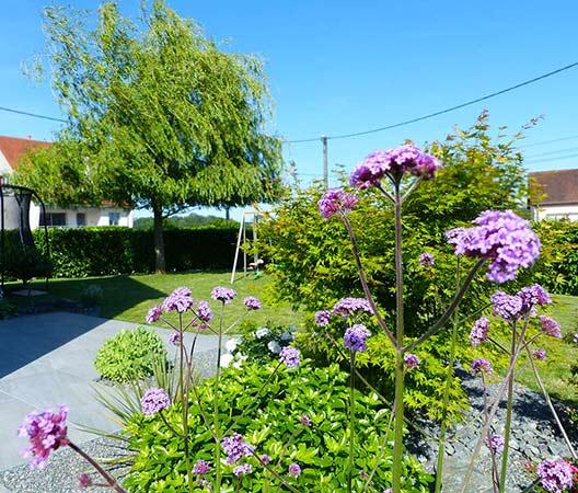ménagement des extérieurs d'un jardin modern 13
