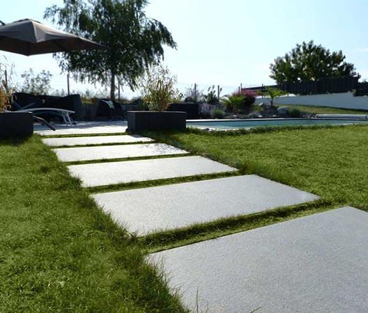 jardin et piscine contemporaine 3