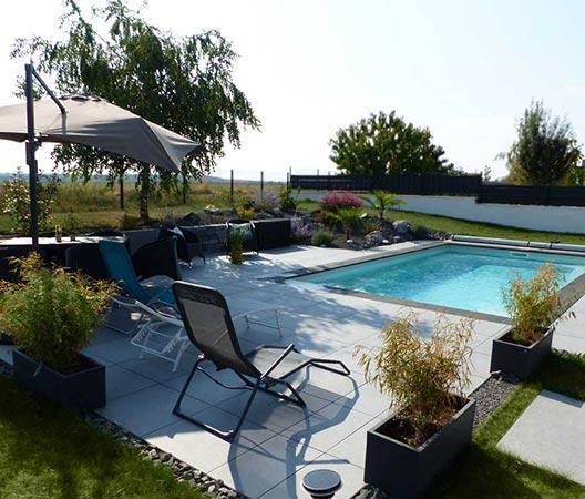 jardin et piscine contemporaine 12