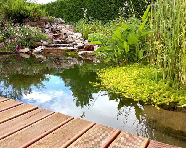 Création et aménagements de bassins, plan d\'eau, cascades d\'eau, lac ...