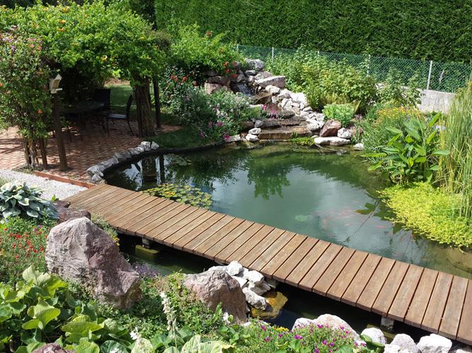 Cr ation des bassins et plan d 39 eau cascades d 39 eau et jardins aquatiques pour votre jardin ou parc - Bassin aquatique contemporain calais ...