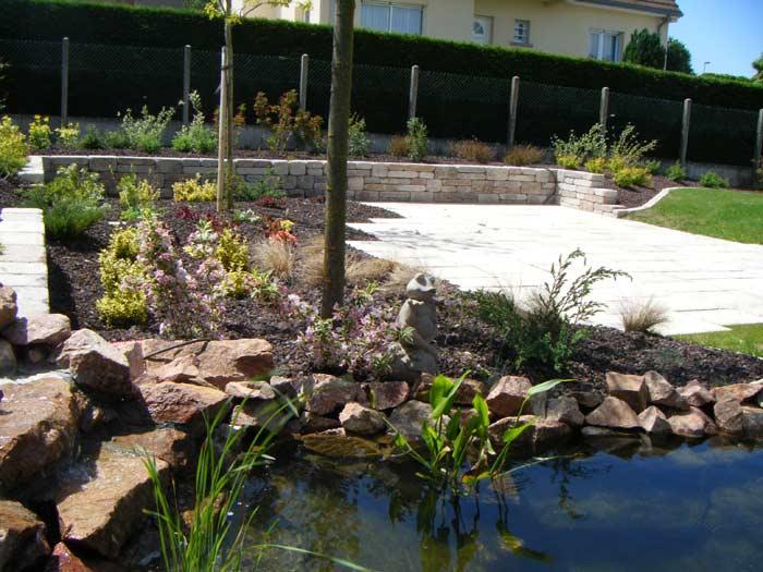Cr ation des bassins et plan d 39 eau cascades d 39 eau et jardins aquatiques pour votre jardin ou parc for Creation bassin de jardin
