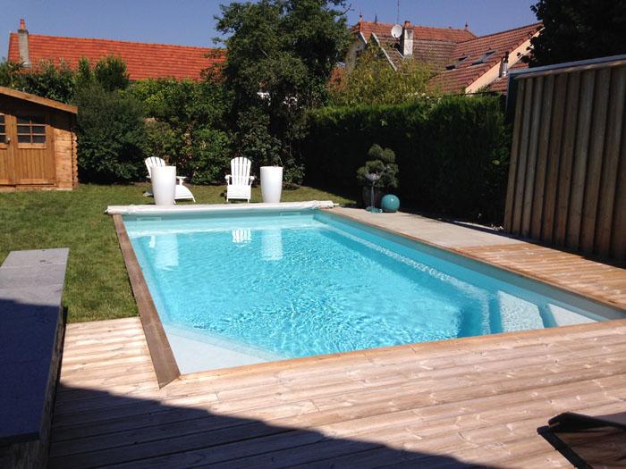 Cr ation des plages de piscine et piscines pour votre for Creation de piscine